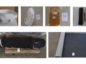 (KPPBC TMP Tanjung Emas) LOT 2 : bond curtain accessories, lace, fabric type b21, produk tekstil dilapisi dalam lembaran dll