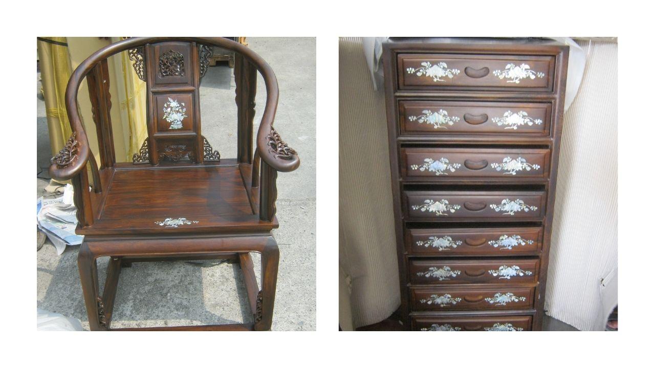 KPU-BC Tipe A Tanjung Priok Lot A07 : 150 Packages Wooden Furniture di Kota Jakarta Utara