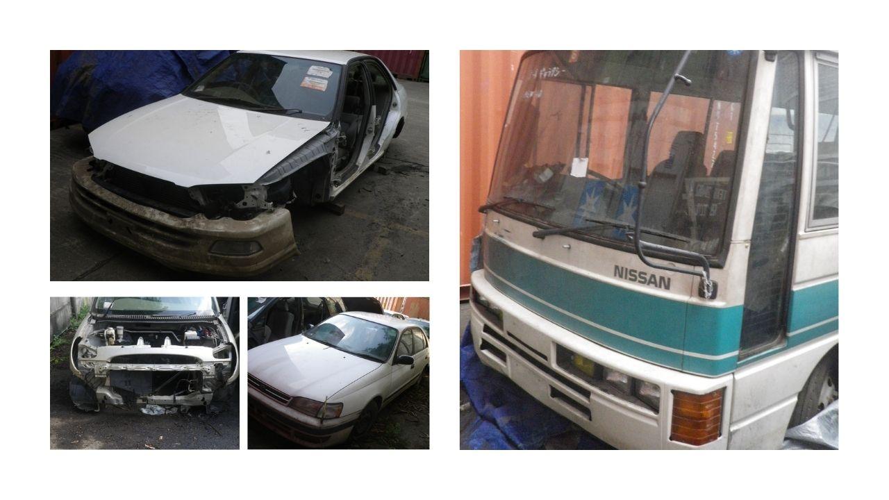 Bea Cukai Priok 4 : 6 Unit Mobil Bekas dan 1 Unit Nissan Civilian Bus Bekas